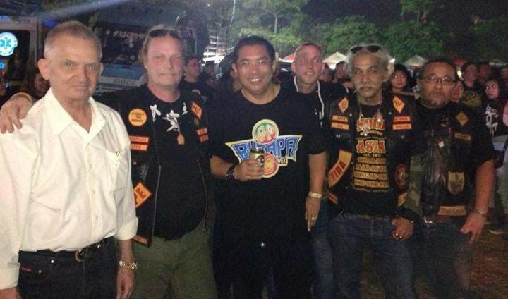 Thailand bandidos Bandidos Bikie