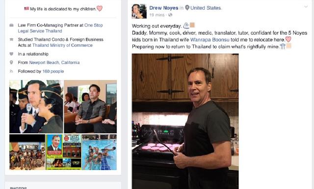 Extortionist Drew Noyes In America