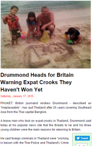Drummond heads for Britain
