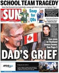 Leo del Pinto Dad's Grief
