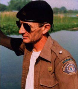 Michael Clarke, British conman in Thai Police uniform